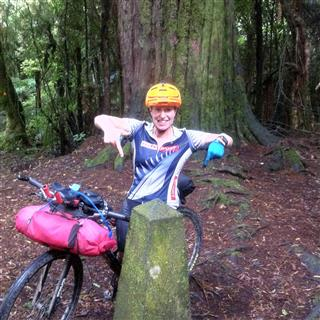Photo of Tour Aotearoa 2016: Rider Anja McDonald
