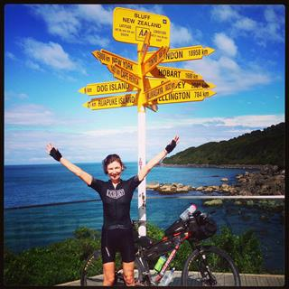 Photo of Tour Aotearoa 2016: Rider Tamsin Dovell