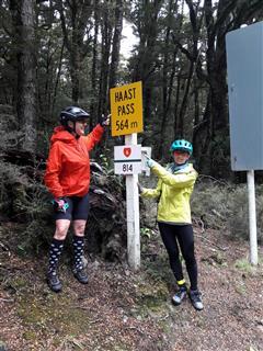 Photo of Tour Aotearoa 2018: Rider rachel berry, haast pass